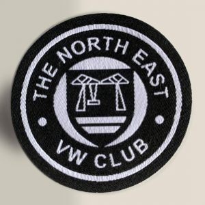 NEVWC iron on patch